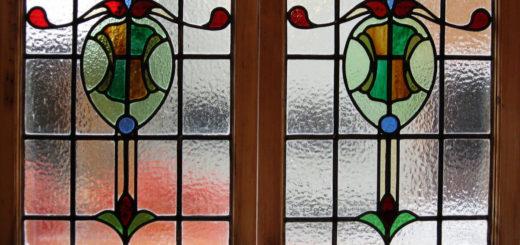 Что такое витражные окна