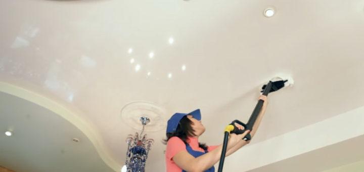 Ухаживаем за подвесным потолком