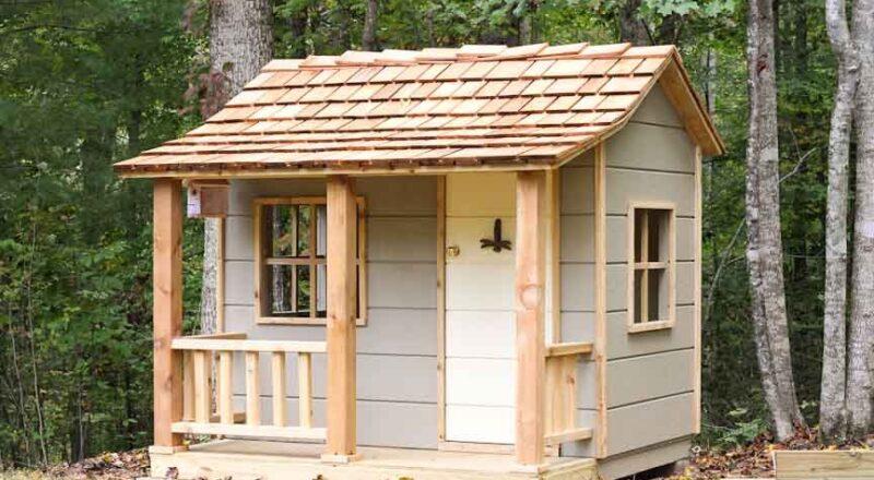Из чего построить дачный деревянный домик