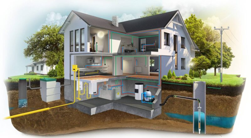 Водоснабжение и отопление для частного дома или квартиры
