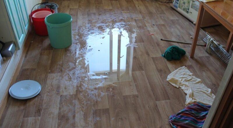 Что делать если вы затопили соседей снизу