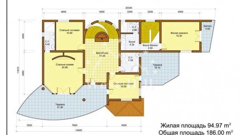 Что является жилой площадью в частном доме