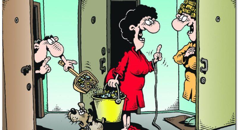 Старший по дому или по подъезду