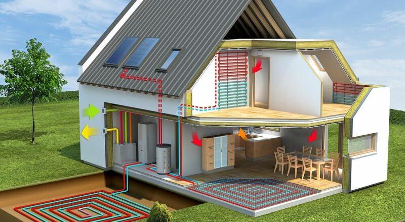 Строительство пассивного энергосберегающего дома