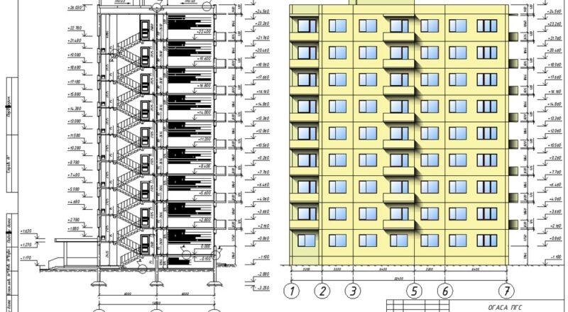 Высота этажа в многоэтажном доме